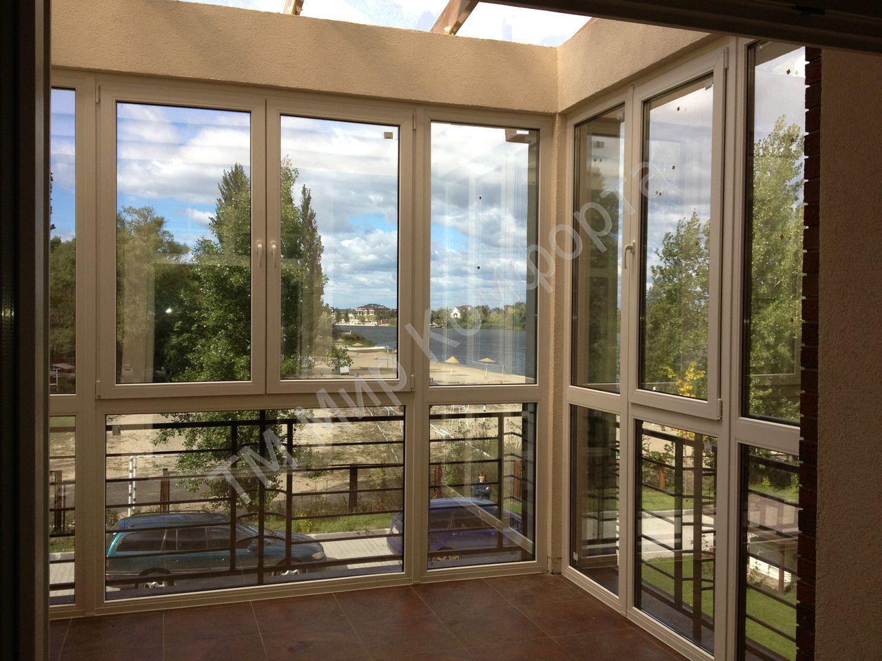 Зеркальное остекление балкона. - дизайнерские решения - ката.